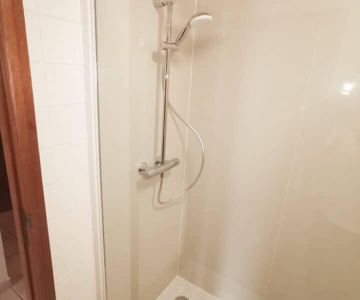 CK Service - Project Aartselaar - bad vervangen door douche met regenkop