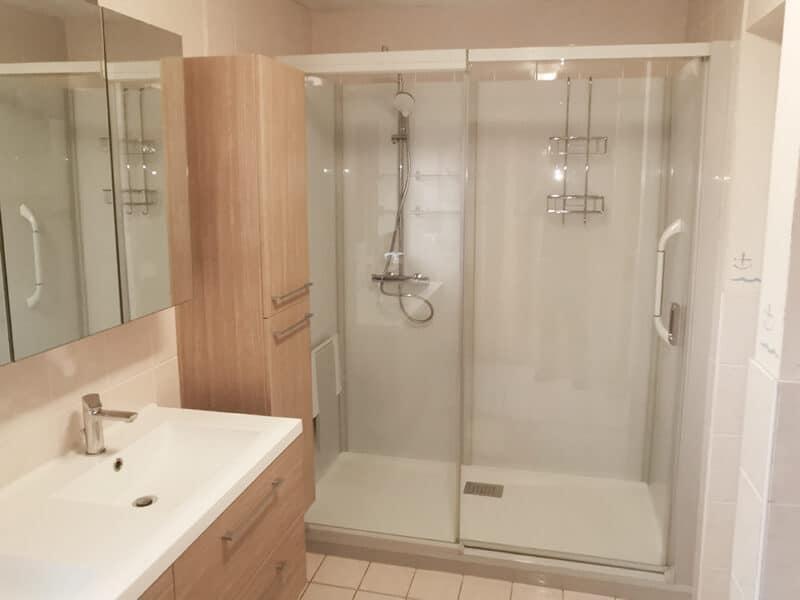 Ck Service - Project Gentbrugge - een badkamer aangepast aan de bewoners